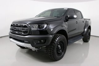 2020 Ford Ranger PX MkIII MY20.25 Raptor 2.0 (4x4) Black 10 Speed Automatic Double Cab Pick Up.
