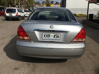2005 Nissan Pulsar N16 S2 MY2004 ST Silver 4 Speed Automatic Hatchback