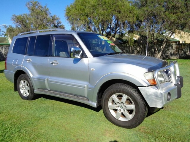 Used Mitsubishi Pajero NP MY05 GLX Kippa-Ring, 2005 Mitsubishi Pajero NP MY05 GLX Silver 5 Speed Sports Automatic Wagon