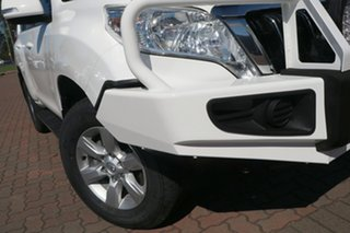 2015 Toyota Landcruiser Prado KDJ150R MY14 GXL White 5 Speed Sports Automatic SUV.