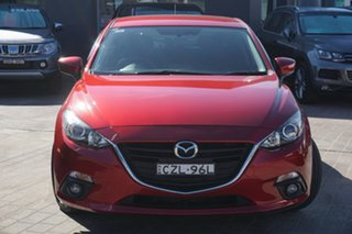 2015 Mazda 3 BM5438 SP25 SKYACTIV-Drive Red 6 Speed Sports Automatic Hatchback.