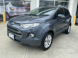 2015 Ford Ecosport BK Titanium PwrShift Grey 6 Speed Sports Automatic Dual Clutch Wagon