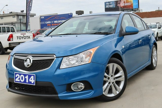 Used Holden Cruze JH Series II MY14 SRi-V Coburg North, 2014 Holden Cruze JH Series II MY14 SRi-V Blue 6 Speed Manual Sedan