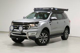 2016 Ford Everest UA MY17 Trend Silver 6 Speed Automatic SUV.