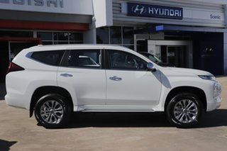 2021 Mitsubishi Pajero Sport QF MY21 GLX White 8 Speed Sports Automatic Wagon