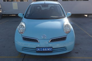 2008 Nissan Micra K12 Blue 4 Speed Automatic Hatchback.