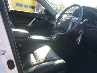 2011 Toyota Aurion GSV40R MY10 Prodigy White 6 Speed Sports Automatic Sedan.