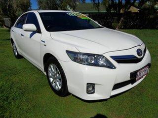 2010 Toyota Camry AHV40R MY10 Hybrid White 1 Speed Constant Variable Sedan Hybrid