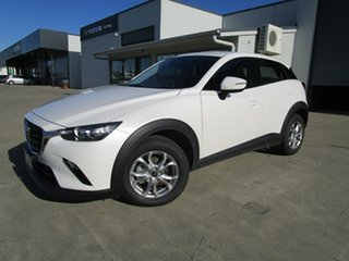 2020 Mazda CX-3 DK2W7A Maxx SKYACTIV-Drive FWD Sport White 6 Speed Sports Automatic Wagon.