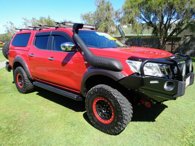 Used Nissan Navara D23 ST Kippa-Ring, 2015 Nissan Navara D23 ST Red 6 Speed Manual Utility