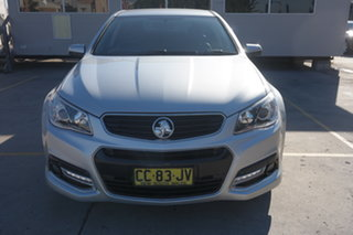 2014 Holden Commodore VF MY14 SV6 Sportwagon Storm Silver 6 Speed Sports Automatic Wagon.