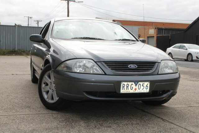 Used Ford Falcon AUIII SR West Footscray, 2002 Ford Falcon AUIII SR Grey 4 Speed Automatic Sedan