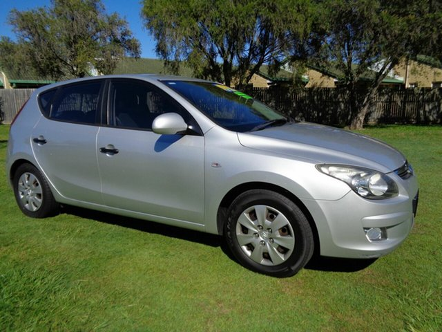 Used Hyundai i30 FD MY11 SX Kippa-Ring, 2011 Hyundai i30 FD MY11 SX Silver 4 Speed Automatic Hatchback