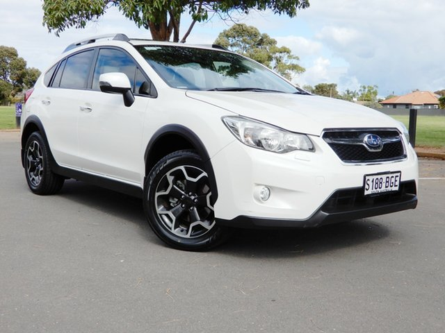 Used Subaru XV G4X MY15 2.0i-S Lineartronic AWD Glenelg, 2015 Subaru XV G4X MY15 2.0i-S Lineartronic AWD White 6 Speed Constant Variable Wagon
