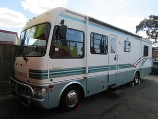 2004 Winnebago Explorer White Motor Home.