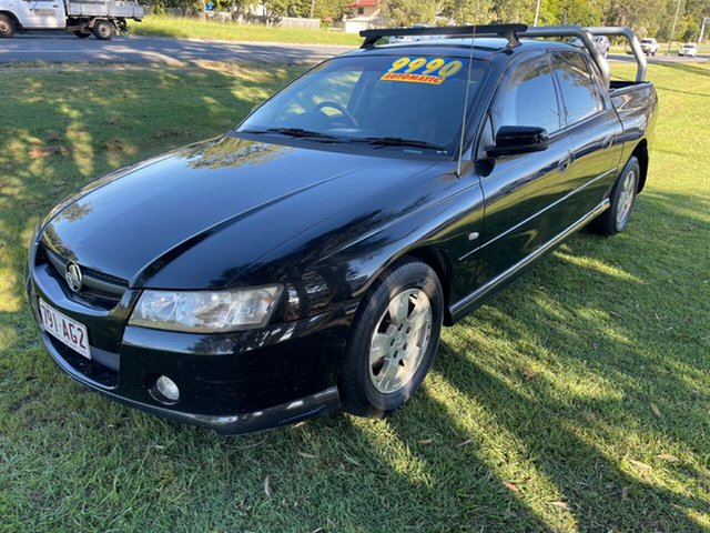 Used Holden Crewman VZ MY06 S Clontarf, 2006 Holden Crewman VZ MY06 S Black 4 Speed Automatic Utility