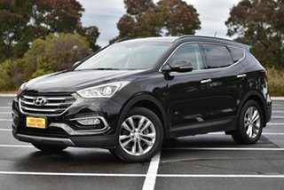 2017 Hyundai Santa Fe DM3 MY17 Elite Black 6 Speed Sports Automatic Wagon.