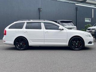 2012 Skoda Octavia 1Z MY12 RS DSG 147TSI White 6 Speed Sports Automatic Dual Clutch Wagon.