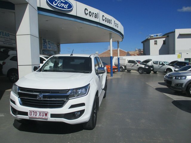 Used Holden Colorado RG MY18 LTZ (4x4) Bundaberg, 2017 Holden Colorado RG MY18 LTZ (4x4) White 6 Speed Automatic Crew Cab Pickup