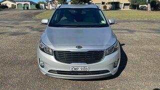 2015 Kia Carnival YP MY16 SI Bright Silver 6 Speed Sports Automatic Wagon.