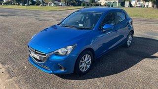 2014 Mazda 2 DE10Y2 MY14 Maxx Sport Electric Blue 4 Speed Automatic Hatchback.