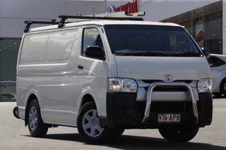 2015 Toyota HiAce TRH201R LWB White 6 Speed Automatic Van.