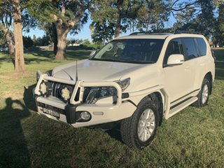 2017 Toyota Landcruiser Prado GDJ150R Altitude Crystal Pearl 6 Speed Sports Automatic Wagon.