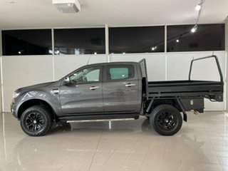 2018 Ford Ranger PX MkII 2018.00MY XLT Double Cab Grey 6 Speed Sports Automatic Utility