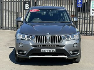 2017 BMW X3 F25 LCI xDrive20d Steptronic Grey 8 Speed Automatic Wagon.