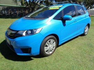 2015 Honda Jazz GF MY16 VTi-S Blue 1 Speed Constant Variable Hatchback