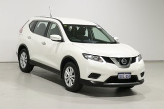2017 Nissan X-Trail T32 TS (FWD) Pearl White Continuous Variable Wagon