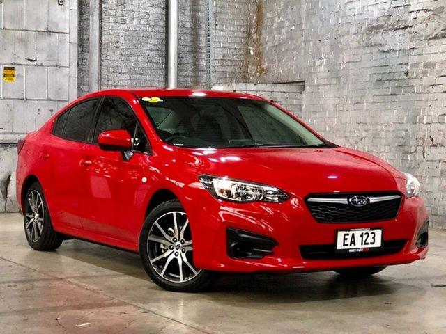 Used Subaru Impreza G5 MY17 2.0i CVT AWD Mile End South, 2017 Subaru Impreza G5 MY17 2.0i CVT AWD Red 7 Speed Constant Variable Sedan