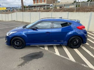 2016 Hyundai Veloster FS5 Series II Street Coupe D-CT Dazzling Blue/blue 7 Speed