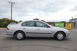 1998 Ford Falcon AU Forte Silver 4 Speed Automatic Sedan