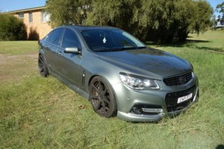 2013 Holden Commodore VF MY14 SS V Redline Prussian Steel 6 Speed Manual Sedan.
