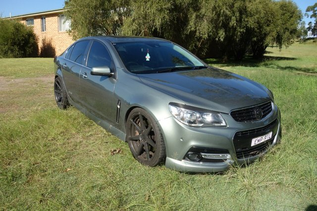 Used Holden Commodore VF MY14 SS V Redline East Maitland, 2013 Holden Commodore VF MY14 SS V Redline Prussian Steel 6 Speed Manual Sedan