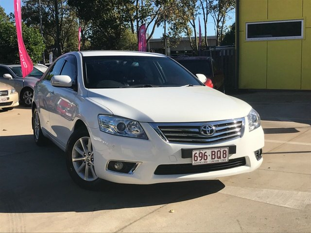 Used Toyota Aurion GSV40R MY10 Prodigy Toowoomba, 2011 Toyota Aurion GSV40R MY10 Prodigy White 6 Speed Sports Automatic Sedan