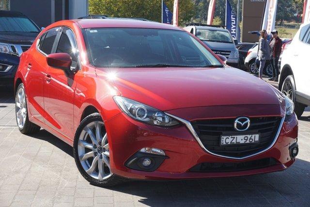 Used Mazda 3 BM5438 SP25 SKYACTIV-Drive Phillip, 2015 Mazda 3 BM5438 SP25 SKYACTIV-Drive Red 6 Speed Sports Automatic Hatchback