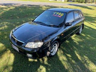 2003 Mazda 323 BJ II-J48 Astina Black 4 Speed Automatic Hatchback.