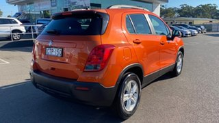2014 Holden Trax TJ MY14 LS Orange 5 Speed Manual Wagon.