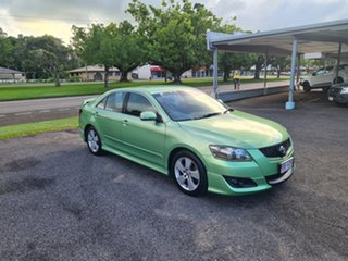 2007 Toyota Aurion GSV40R Sportivo SX6 Green 6 Speed Automatic Sedan.