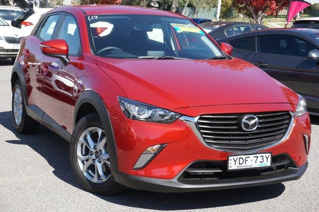 Used Mazda CX-3 DK2W7A Maxx SKYACTIV-Drive Phillip, 2015 Mazda CX-3 DK2W7A Maxx SKYACTIV-Drive Red 6 Speed Sports Automatic Wagon