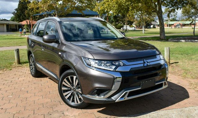 Used Mitsubishi Outlander ZL MY19 ES 2WD Ingle Farm, 2019 Mitsubishi Outlander ZL MY19 ES 2WD Bronze 6 Speed Constant Variable Wagon
