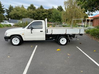 2002 Toyota Hilux RZN149R MY02 4x2 White 5 Speed Manual Cab Chassis
