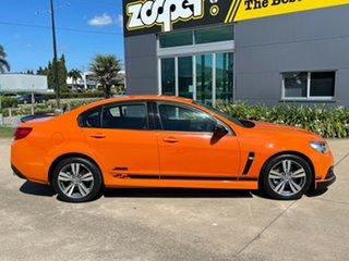2013 Holden Commodore VF MY14 SS Orange/301213 6 Speed Sports Automatic Sedan.