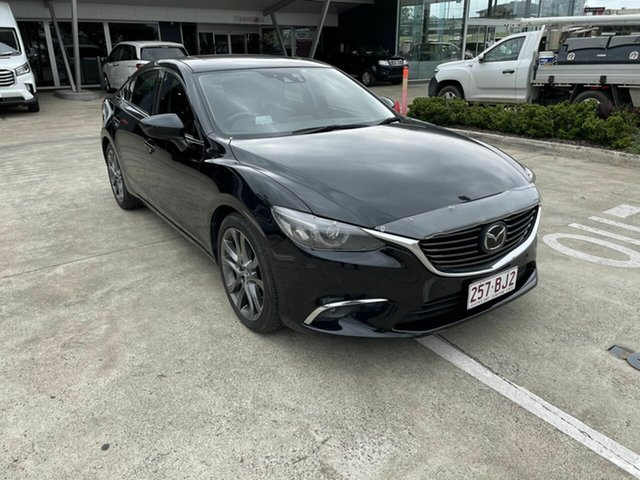 Used Mazda 6 GJ1032 Atenza SKYACTIV-Drive Yamanto, 2016 Mazda 6 GJ1032 Atenza SKYACTIV-Drive Black 6 Speed Sports Automatic Sedan