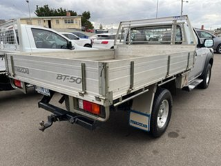 2008 Mazda BT-50 UNY0E4 DX Silver 5 Speed Manual Cab Chassis