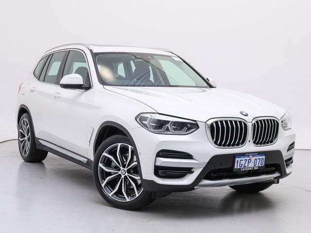 Used BMW X3 G01 xDrive30I, 2019 BMW X3 G01 xDrive30I White 8 Speed Automatic Wagon