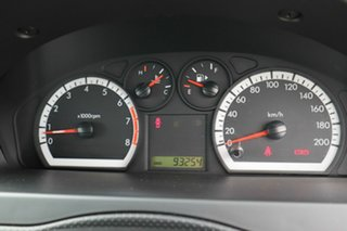 2011 Holden Barina TK MY11 Red 4 Speed Automatic Sedan.