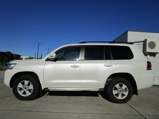 2019 Toyota Landcruiser VDJ200R GXL White 6 Speed Sports Automatic Wagon.